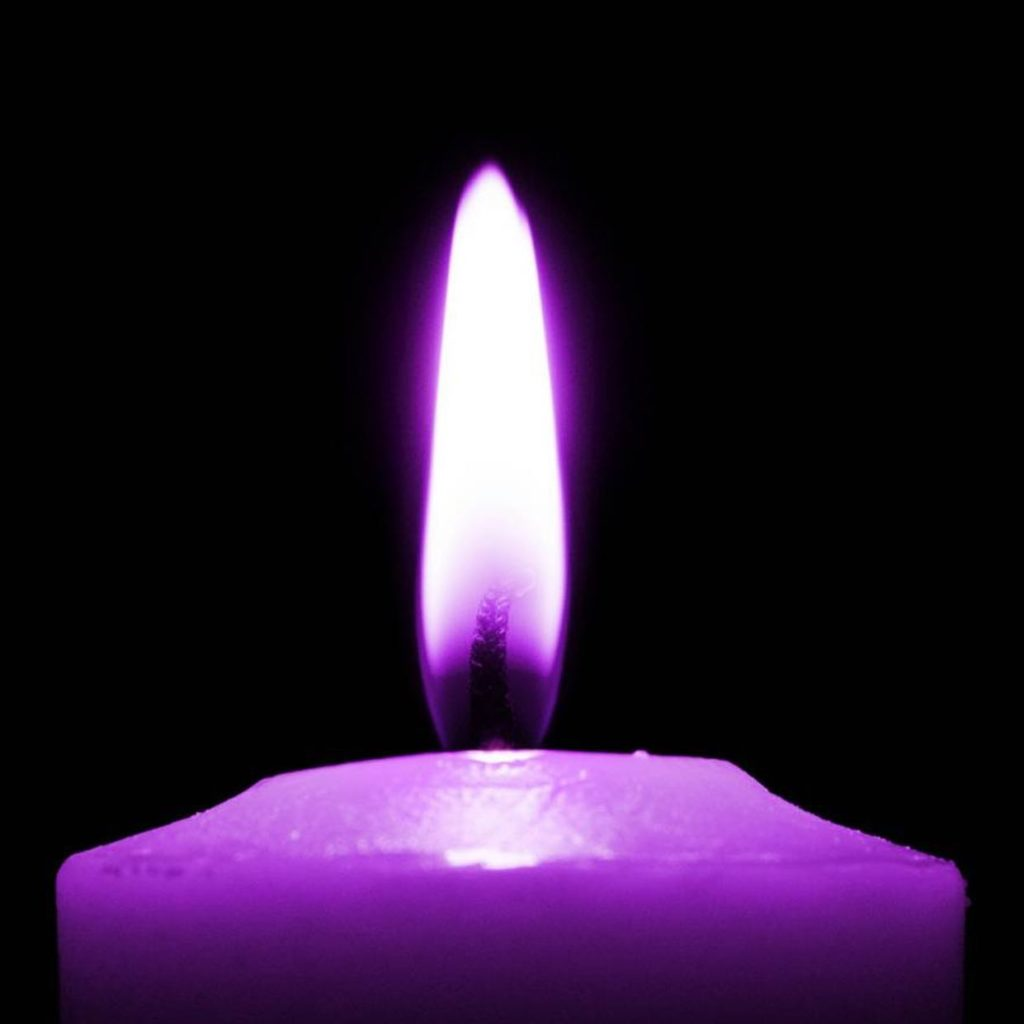 Today one of our purple flames was put out too soon, too quickly. We take a moment t…